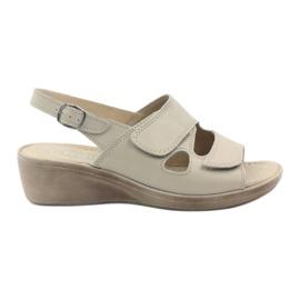 Maro Gregors 592 sandale de femei bej