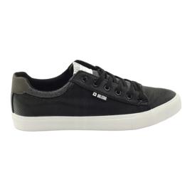 Big Star negru Pantofi mari pentru adulți Star 174004 cz