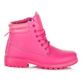 Seastar Boots Trappers pentru femei roz
