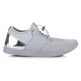 Seastar gri Pantofi sport cu un tragaci