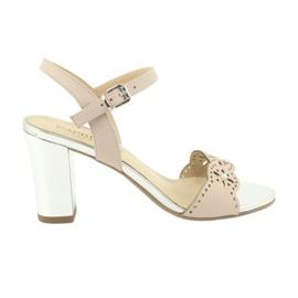 Pantofi femei sandale Caprice 28303 roz