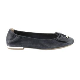 Pantofi de balerini Caprice pentru femei 22111 bleumarin