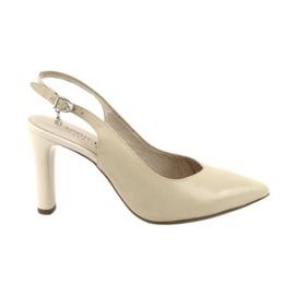 Caprice pompe sandale pantofi pentru femei 29603 maro