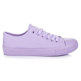 Seastar Pantofi violeți violet
