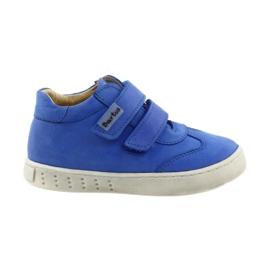 Albastru Pantofi de băieți pentru Velcro Bartuś