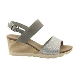 Pantofi femei sandale Caprice 28701 gri