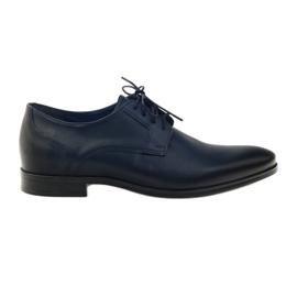 Pantofi Nikopol 1628 papuci bleumarin