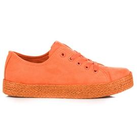 Kylie Pantofi de portocale Espadrilles portocaliu