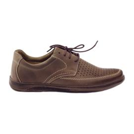 Maro Pantofi bărbați Riko cu pantofi perforați 848