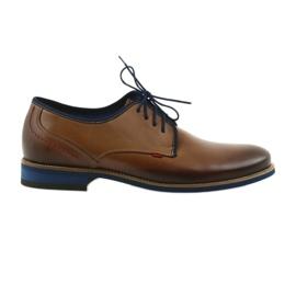 Pantofi de puf brun Nikopol 1653 maro