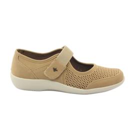 Pantofi foarte confortabili Aloeloe maro
