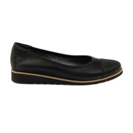 Negru Pantofi din piele moșcă Angello 1325 din piele