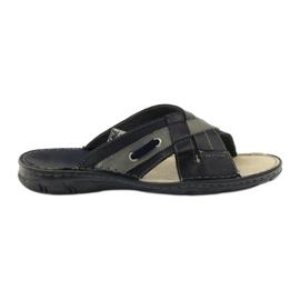 Naszbut bleumarin Pantofi din piele 055 albastru