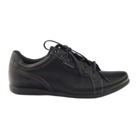 Negru Pantofi sport pentru bărbați Riko 776