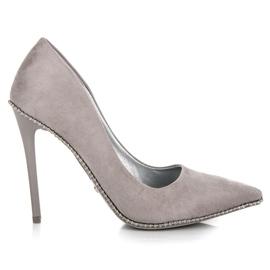 Seastar gri Trendy Gray High Heels