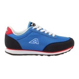 American Club Pantofi de sport albastru american