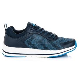 Ax Boxing Legat de pantofi sport albastru
