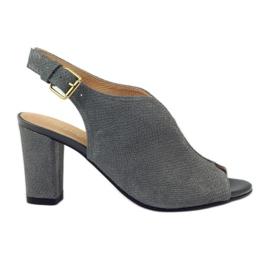 ESPINTO 248 sandale de cobra gri