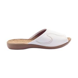 Befado femei pantofi pu 254D058 alb