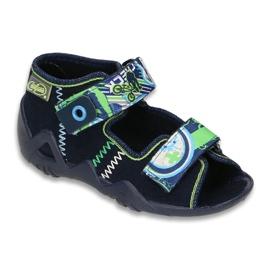 Bleumarin Pantofi de copii Befado 250P058