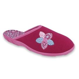 Befado pantofi femei colorate 235D156 roz