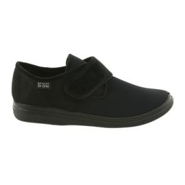 Negru Befado pantofi pentru bărbați pu 131M003