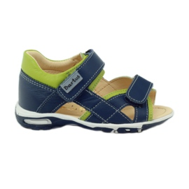 Sandale Velcro Bartuś 137 albastru
