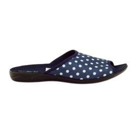 Papuci de bumbac Adanex puncte marine