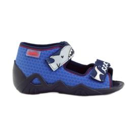 Befado pantofi pentru copii papuci sandale 250p069