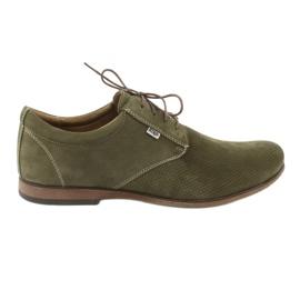Verde Pantofi pentru bărbați Riko 777D