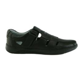 Gri Riko pantofi bărbați 851 sandale