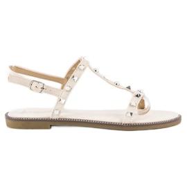 Bestelle maro Bej sandale