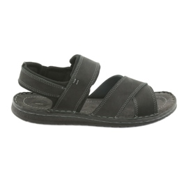 Negru Riko bărbați sandale 852 pantofi sport