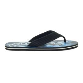 American Club negru Papucii americani pentru bărbați SURF