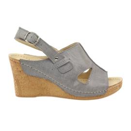 Gray Gregors 533 Sandale gri