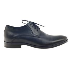 Nikopol Pantofi pentru bărbați Nicopol 1644 albastru marin bleumarin