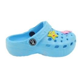 American Club Croșete flip-flops albastru american