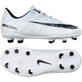 Pantofi de fotbal Nike Mercurial Vortex Iii CR7 Fg Jr. 852494-401 alb