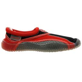 Aqua-Speed Jr. pantofi neopren plajă roșu-gri