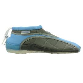 Aqua-Speed Jr. pantofi neopren plajă albastru-gri