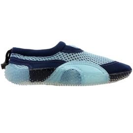 Pantofi de plajă din neopren Aqua-Speed Jr albastru
