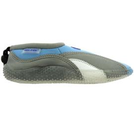 Pantofi de plajă neopren Aqua-Speed Jr. gri