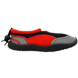 Aqua-Speed Jr pantofi neopren de culoare roșie