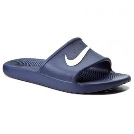 Bleumarin Papuci de casă Nike Sport Spumă de cafea M 832528-400