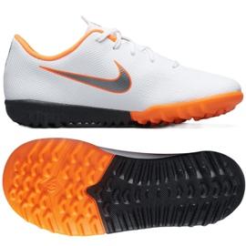 Nike Mercurial VaporX 12 Academie Tf Jr AH7353-107 Cizme pentru fotbal