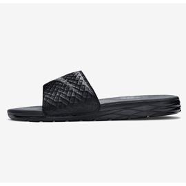 Negru Papuci Nike Benassi Solarsoft Slide 705474-091