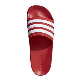 Roșu Adidas Adilette duș AQ1705 papuci