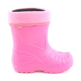 Befado pantofi pentru copii kalosz-róż 162Y101 roz