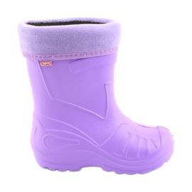Pantofi de copii Befado galos-violet 162Y102