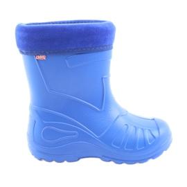Pantofi de copii Befado galoskie-chabrowy 162Y106 albastru